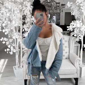 ekattire Jackets & Coats - 🏷BOGO ITEM—ZANE— in Light Denim